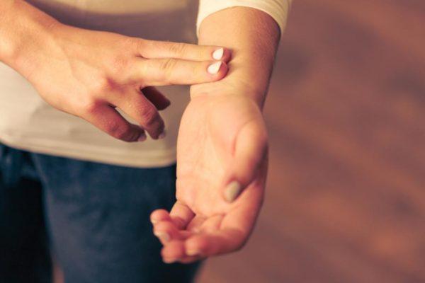 تپش قلب ( ریتم فیبریلاسیون دهلیزی )